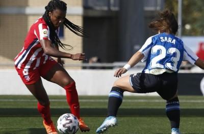 Com gol de Brasileira, Atlético de Madrid estreia com vitória no Espanhol Feminino