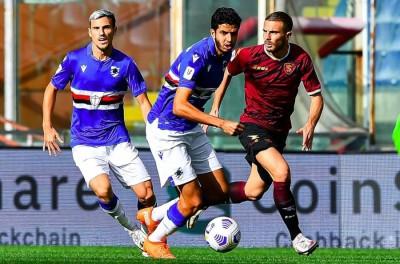 Jovem zagueiro Brasileiro estreia como profissional, e Sampdoria avança na Copa da Itália