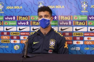 Meia-atacante do Barça, marcou um gol e deu passe para outro na vitória do Brasil !