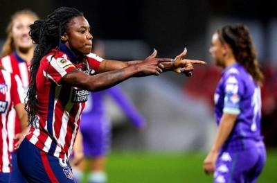 Brasileira brilha com quatro gols em vitória do Atlético de Madrid no Espanhol Feminino