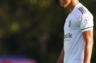 Brasileiro Eduardo Mancha balançou as redes no  final de semana, em vitória do Farense