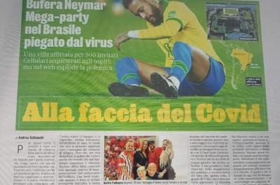 Brasileiro marca Réveillon com suruba e repercute mal na Europa