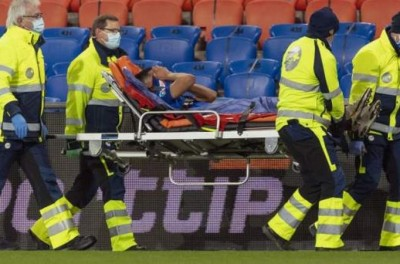 Lateral Brasileiro passa por cirurgia no joelho esquerdo e diz ''meu pior momento'' !