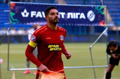 Atacante Brasileiro  comenta sobre temporada atuando pelo FC Lviv