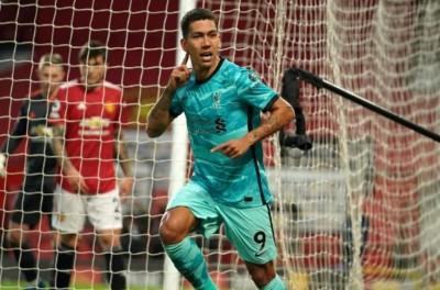 Com 2 de Brasileiro, Liverpool vence o Manchester United e está na briga pela a Champions