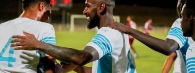 ''Mostrando porque foi '' Brasileiro ex-fla em sua primeira partida ,anota gol e joga bem