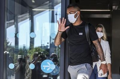 Após deixar Jiangsu Suning,da China por conta da pandemia brasileiro assina com Besiktas