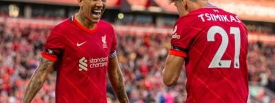 Brasileiro marca duas vezes, e Liverpool vence amistoso com Osasuna em Anfield
