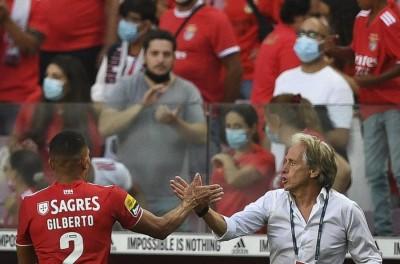 Com gol de Brasileiro ex-Flu Gilberto, Benfica vence o Tondela !