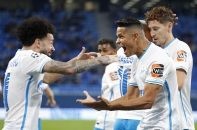 Brasileiro marca pela primeira vez na Champions League em goleada do Zenit sobre o Malmö