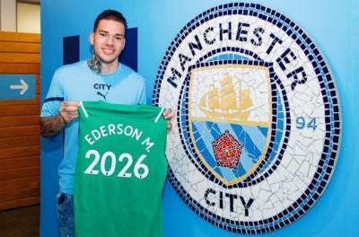 Brasileiro renova com o Manchester City até 2026 e exalta trabalho de Guardiola !