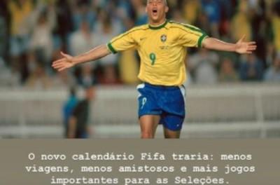 Brasileiro volta a defender Copa do Mundo a cada dois anos: