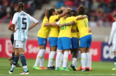 ''Pipocaram''Argentina anuncia que não poderá enfrentar a seleção feminina do Brasil