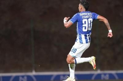 Brasileiro Evanilson marca duas vezes pelo Porto na Taça de Portugal !