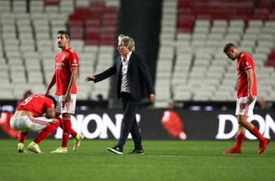 Com Brasileiros em campo,Benfica perde e leva vaia de torcida !