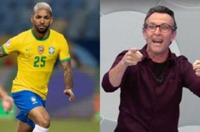 Jogador brasileiro que atua na Inglaterra,discute com narrador que diz ''Você é medíocre''